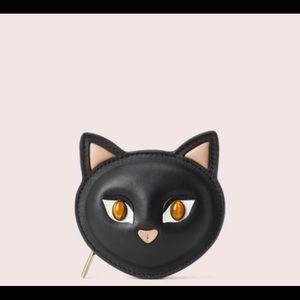 CATS Kate Spade super cute Coin Purse New